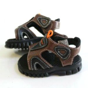 Carter's Baby Boy's Brown Trail Sandals Size 1